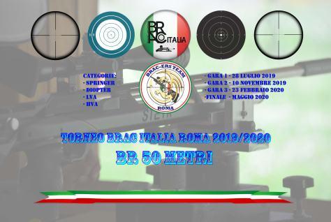 Torneo BRAC Italia Roma BR 50 MT